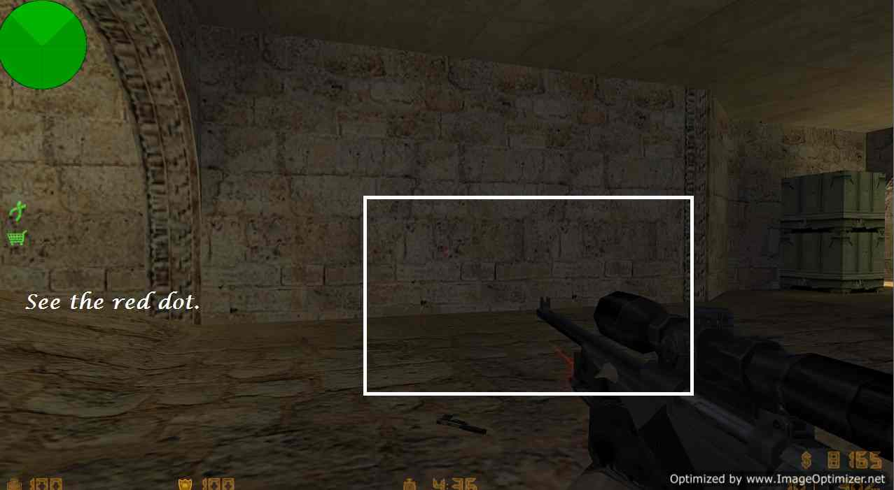 Unzoom Crosshair trick in Counter Strike