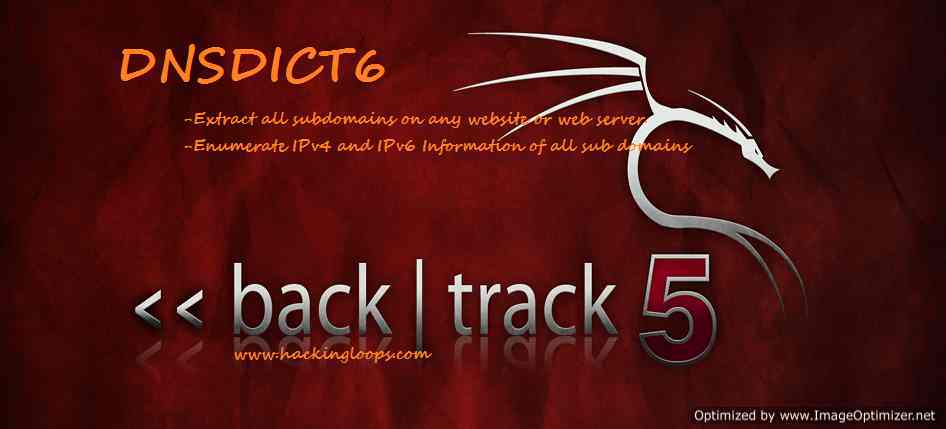 DNSDICT6 Video Tutorial – Know Your Backtrack