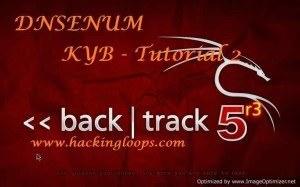 DNSENUM Tutorial – DNS Information Gathering Tool | KYB Tutorial 2