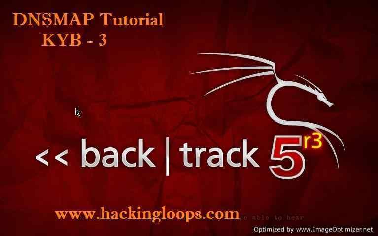 DNSMAP Tutorial | DNS Network Mapper Information Gathering | KYB Tutorial 3