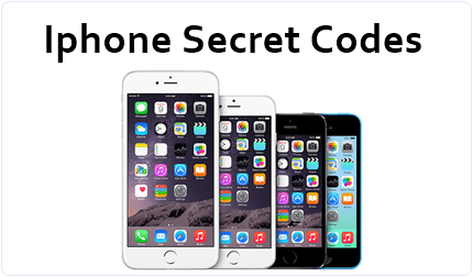 Secret hack codes of Apple iPhone