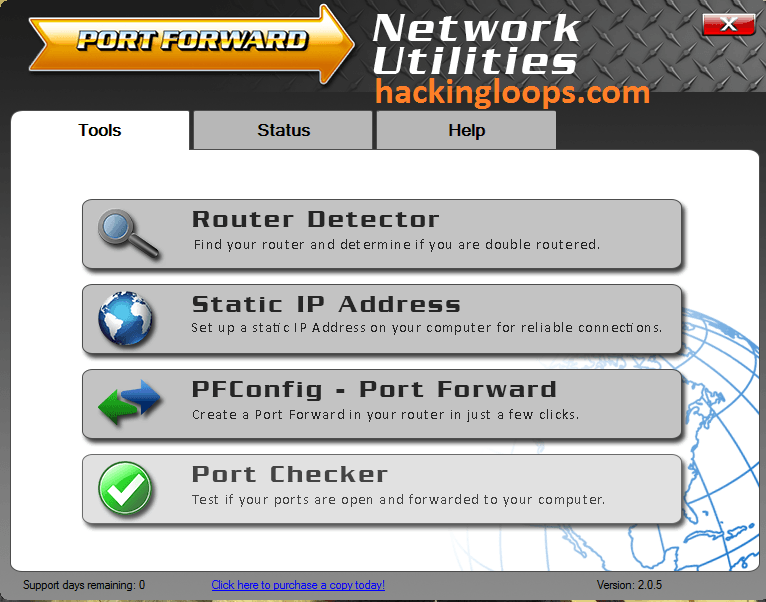 how to get gateway port number