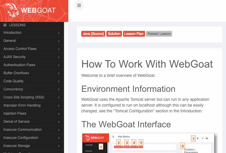 WebGoatlogin
