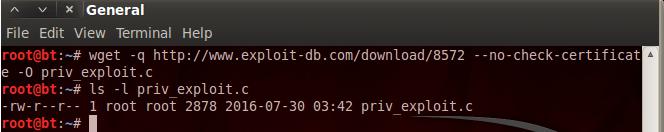 downloading priv exploit