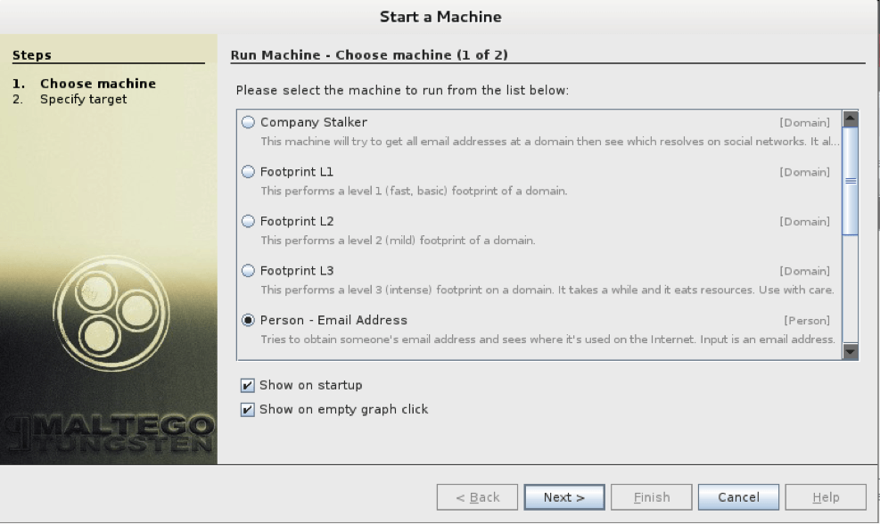 startamachine