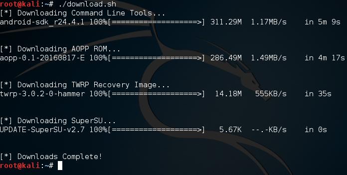 executing-download-script