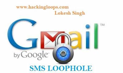 hack gmail account password, Gmail mobile verification, SMS alerts