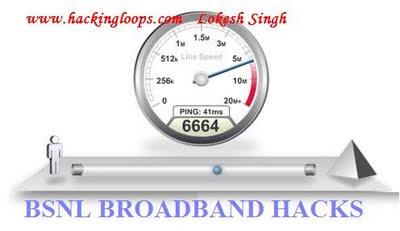 boost internet speed, hack broadband, bsnl broadband hacking