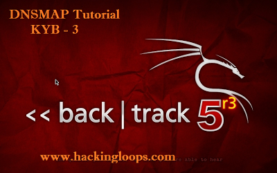 DNSMAP Tool Backtrack Tutorial
