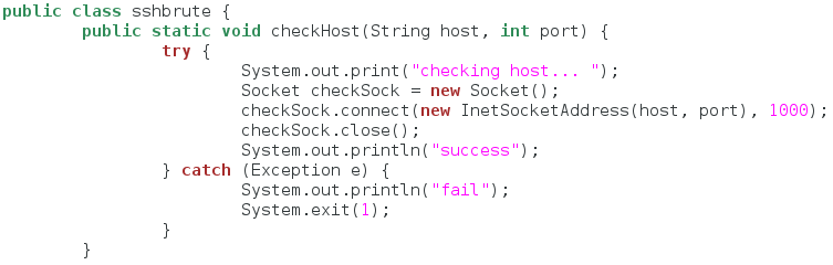class_and_checkhost