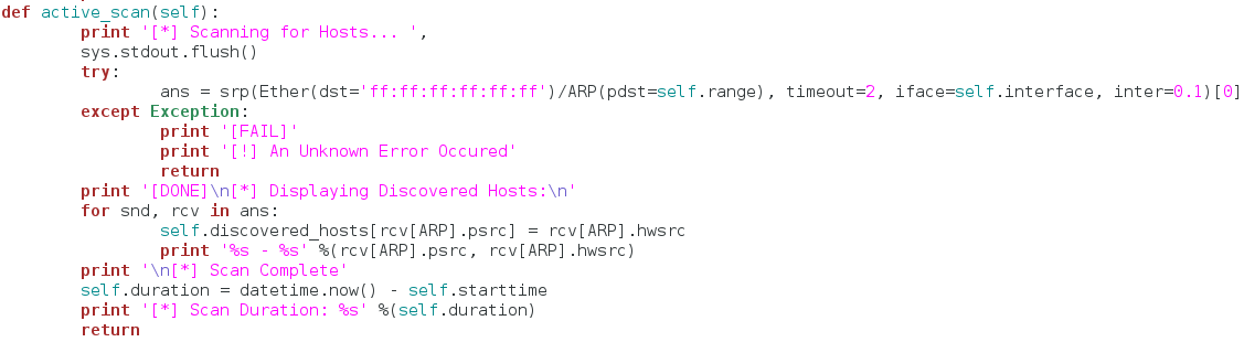 How to Build an ARP Network Enumeration Tool Using Python
