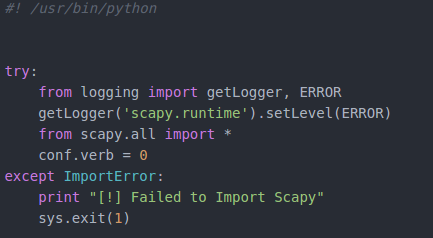 How to Build a Man in the Middle Script with Python