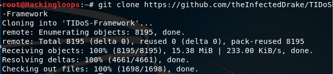 Tidos Framework Cloning