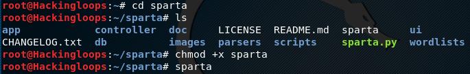 Sparta execution