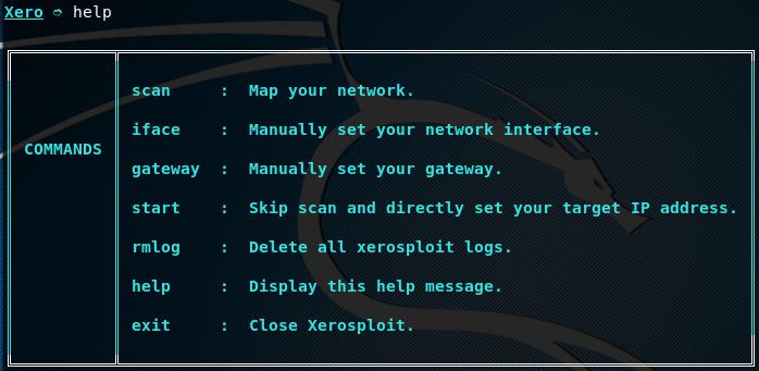 XeroSploit help