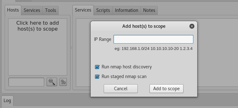 adding hosts range
