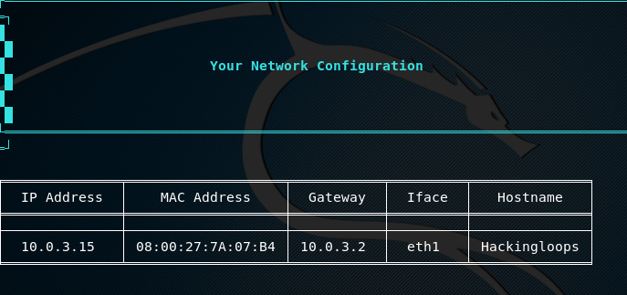 host network configuration