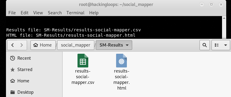 social mapper results