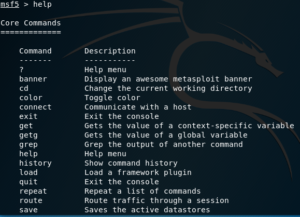 The most important Metasploit commands you'll need