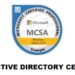 Active Directory Certification
