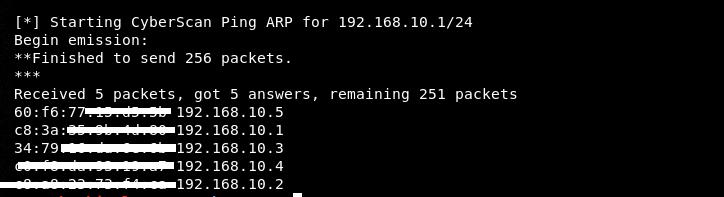 arp scan