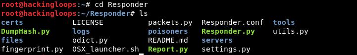 responder files