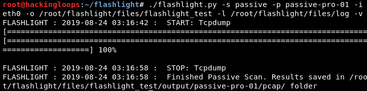 flashlight passive scan