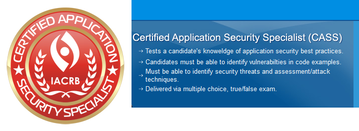 Certified Application Security Specialist (CASS)