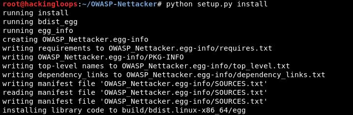 owasp-nettacker-installation