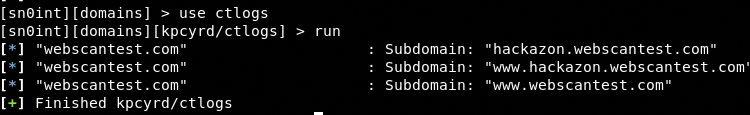 subdomain finding