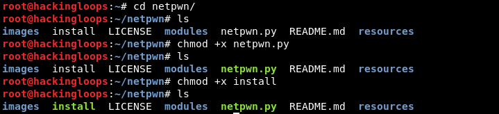netpwn file permission update