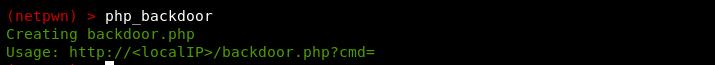 php backdoor