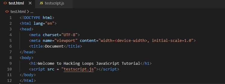testscriptJS reference path