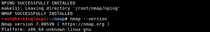 nmap-version confirmation