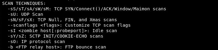 scan techniques