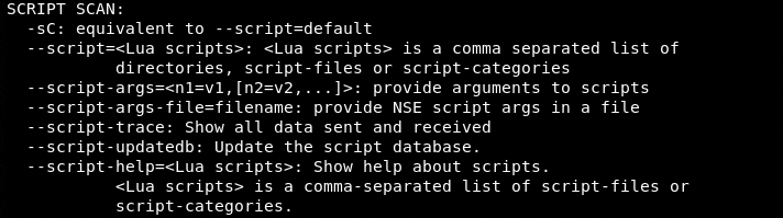 script scan