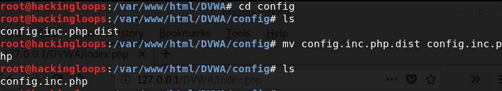 config.inc.php file setup