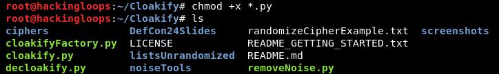 Cloakify file permission update