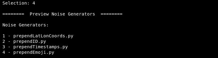 coakify factory noise generators