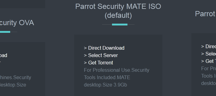 parrot os official repository