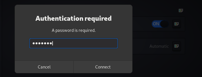 vypr authentication popup