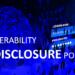VULNERABILITY DISCLOSURE POLICY