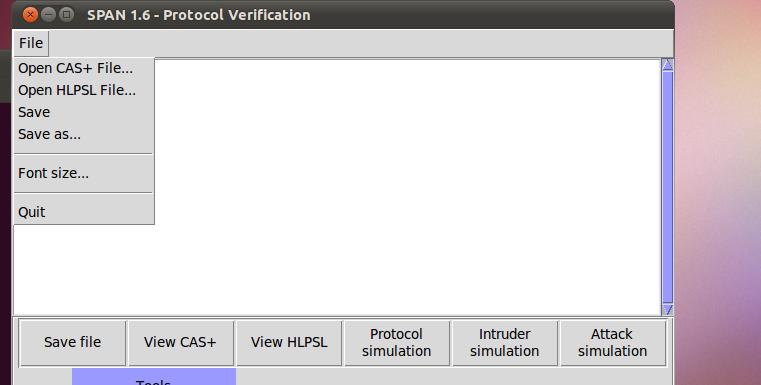 AVISPA HLPSL file load option