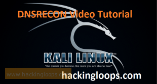 DSNRECON Video Tutorial on Kali Linux
