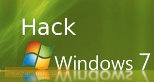 hack window 7 password