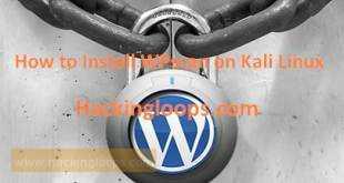 Install WPScan on Kali Linux