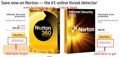 Norton Antivirus 2012 Full for 2 Months