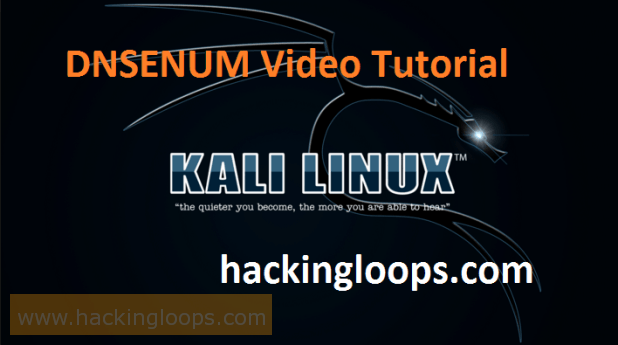 DNSENUM Video Tutorial on Kali Linux - DNS Information Gathering