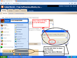 Where The Saved Passwords Stores In Windows Xp & Vista - Must for hackers and Beginers